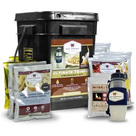 Ultimate 72 Hour Kit (72 Servings, Water Filter, Fire)