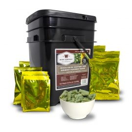 120 Serving Freeze Dried Vegetable and Gourmet Flavored Sauces