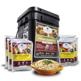 60 Serving Entrée Only Grab and Go Food Kit