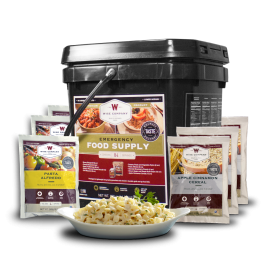 84 Serving Breakfast and Entrée Grab and Go Food Kit