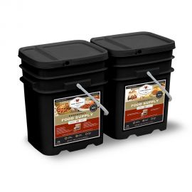 240 Serving Package - 40 lbs - Includes: 1 - 120 Serving Entrée Bucket and 1 - 120 Serving Breakfast Bucket