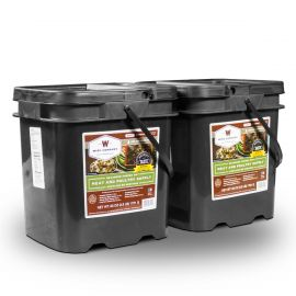 120 Serving Meat Package Includes: 2 Freeze Dried Meat Buckets