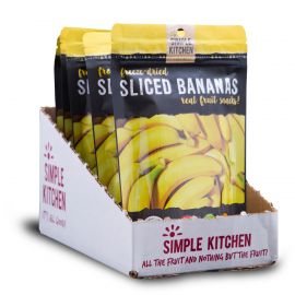 6 Ct Pack - Simple Kitchen Bananas  4 Serving Pouch