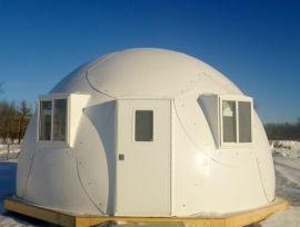 Pre-Fab Bio Dome Shelter 20 foot