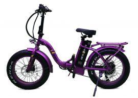 Peñalosa (fat tire electric folding style) Class II Hybrid E-bike (fully loaded) by FATTE-BIKES