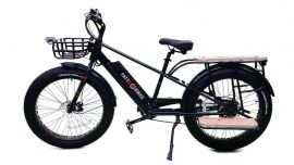 Major T Cargo Bike (fat tire electric bike) Class II Hybrid E-Bike by FATTE-BIKE