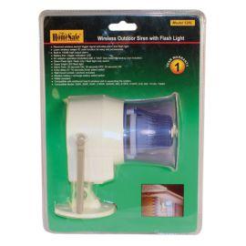 Wireless Outdoor Siren 120db high output alarm