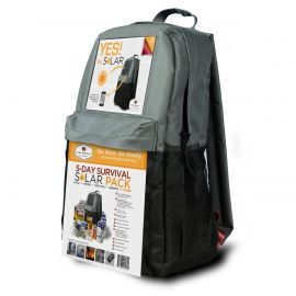 5 Day SOLAR Survival Backpack