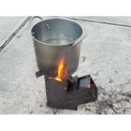 On the Go Rocket Stove