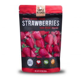 6 Ct Pack - Simple Kitchen Strawberries 4 Serving Pouch