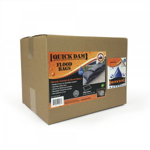 Quick-Dam Flood Bag Barrier 12 x24 (20 Bags)