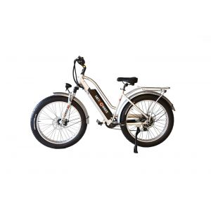 Londonderry (fat tire electric low step style) Class II Hybrid E-Bike (Fully Loaded) by FATTE-BIKES